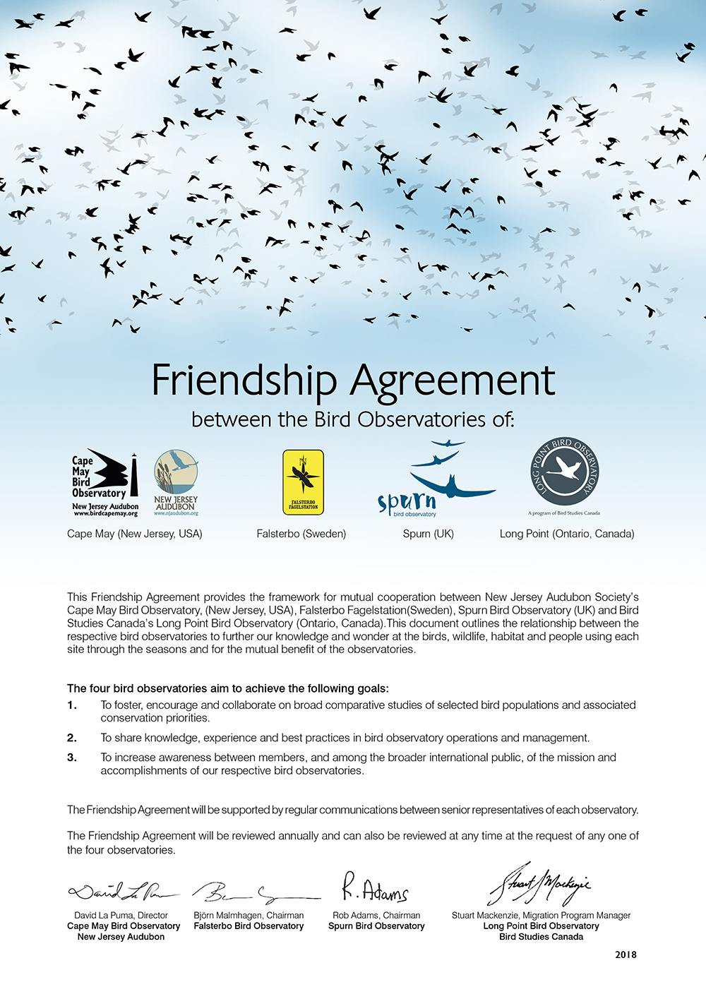 Friendship Agreement